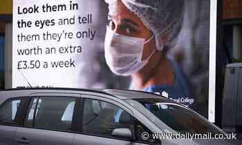 SARAH VINE: Why do we spray Covid millions at everyone - but nurses?