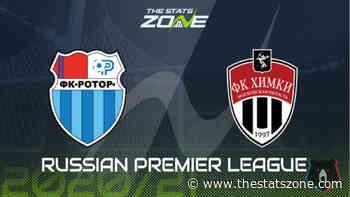 Russian Premier League 2020-21 - Rotor Volgograd vs Khimki Preview & Prediction - The Stats Zone