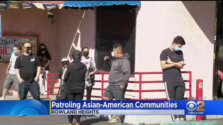 'Asians With Attitude' Movement Shows Solidarity With Asian-American Community In Rowland Heights