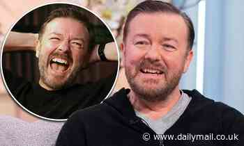 Ricky Gervais jokes that he could be replaced by a ROBOT one day