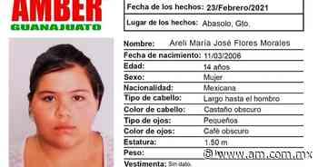 Abasolo, Guanajuato: Alerta AMBER por desaparición de Areli María José Flores Morales - Periódico AM
