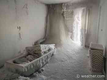Russian Ghost Town: Eerie Photos Show Frozen Homes and Buildings in Vorkuta—Europe's Coldest City | The Weather Channel - Articles from The Weather Channel | weather.com - The Weather Channel