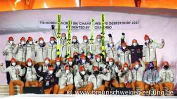 Nordische Ski-WM in Oberstdorf: Garant Geiger, schwache Langläufer: Das Zeugnis des WM-Teams
