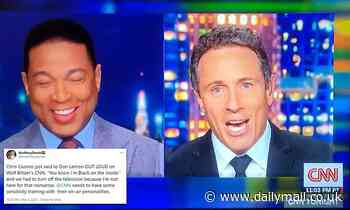 Chris Cuomo says 'you know I'm black on the inside' during handover segment with Don Lemon