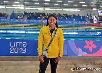 Marcela Cuaspud es la primera deportista de Pentatlón Moderno que representará al país en unas Olimpiadas. - La Hora - La Hora (Ecuador)