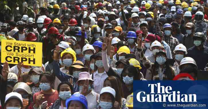 Myanmar: Tens of thousands turn out for Sunday protests despite overnight raids