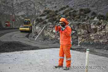 MTC: avanza la construcción de la carretera Oyón-Ambo - Radio Nacional del Perú