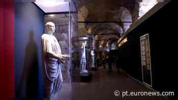Pompeia - A cidade perdida encontra-se no Coliseu de Roma - Euronews