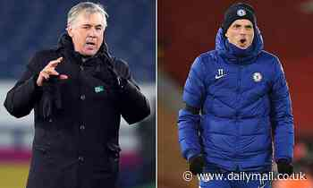 Everton's Carlo Ancelotti is confident they can 'compete' with Chelsea in the Champions Leaguerace