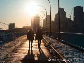 Montreal weather: Bright and brrrr