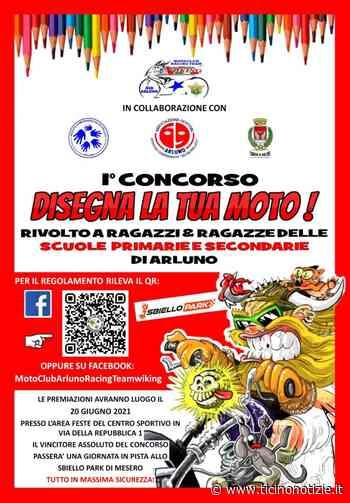 Arluno, via al concorso 'Disegna la tua moto' col Racing Team - Ticino Notizie