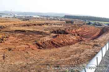 Erdbewegungen im Industriezentrum Westrich (IZW): Amazon Verteilzentrum kommt nach Ramstein - Wochenblatt-Reporter