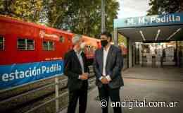 Meoni y Jorge Macri inauguraron la renovada Estación Padilla - ANDigital