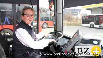 Die Busfahrerin von Baddeckenstedt hat großen Spaß am Beruf