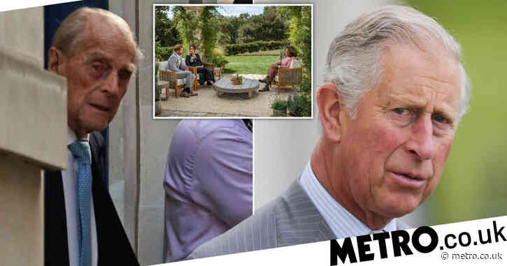 Prince Charles 'more concerned with Philip's health than Oprah interview'