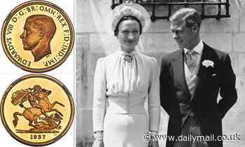 Exceptionally rare £5 gold coin made for Edward VIII's short-lived reign tipped to sell for over £1m