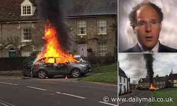 Pictured: Retired Met Police Detective Superintendent who died 'after setting his car ablaze'