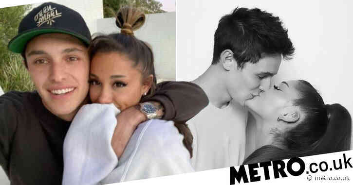 Ariana Grande emerges from love bubble to enjoy rare date night with fiance Dalton Gomez after announcing engagement