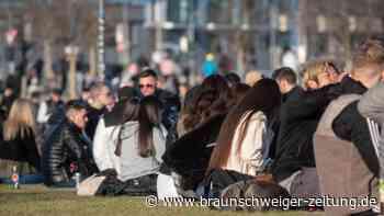 Abstandsregeln missachtet: Hunderte Menschen feiern - Polizei räumt Frankfurter Park