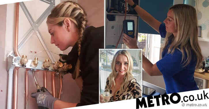 Gas engineer told she's 'too pretty' to do 'man's job'