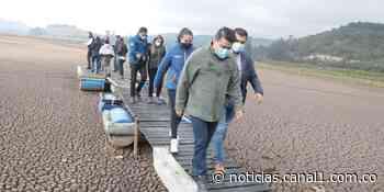 Gobernador de Cundinamarca convocó consejo extraordinario de la CAR para salvar laguna de Suesca - Canal 1