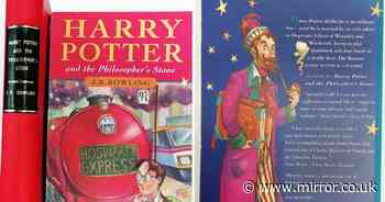 UK book shop has two extremely rare Harry Potter books worth a combined £107,500