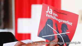 Nikab und Burka: Volksabstimmung: Schweizer beschließen Verhüllungsverbot