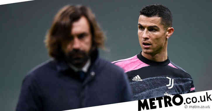 Andrea Pirlo explains why he benched Cristiano Ronaldo for Juventus' victory over Lazio