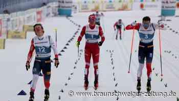 Nordische Ski-WM: Nach Zielsprint: Langläufer Klaebo zunächst disqualifiziert