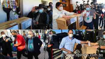Cochabamba: candidatos abren mesas de sufragio y anuncian brigadas para controlar el voto - Opinión Bolivia