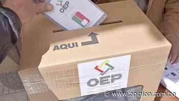 Conozca las listas finales de candidatos habilitados en Cochabamba - Opinión Bolivia