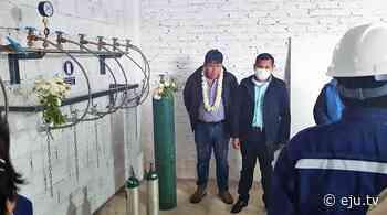 Cochabamba: El valle alto estrena planta de oxígeno medicinal - eju.tv