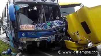 Dos heridos tras accidente en la carretera Cochabamba-Santa Cruz - Los Tiempos
