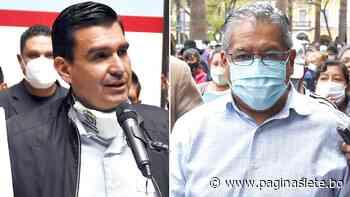 Cochabamba: Pugnas entre Tellería y Leyes reavivan la crisis en la alcaldía - Pagina Siete