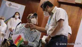 Bolivia | Luis Arce acompaña el inicio de vacunación en Cochabamba - nodal.am