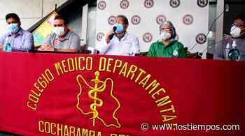 Comité de salud de Cochabamba lamenta que el Gobierno no convoque al diálogo - Los Tiempos
