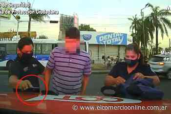 Don Torcuato: robó arriba de un colectivo y fue detenido - elcomercioonline.com.ar