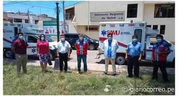 Entregan dos ambulancias para Otuzco y Gran Chimú - Diario Correo