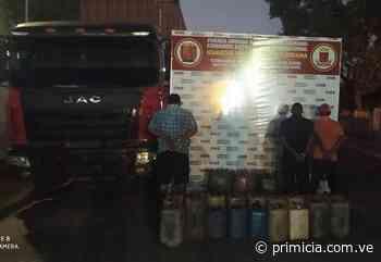 Militares decomisan gasoil que sería trasladado a Santa Elena de Uairén - Diario Primicia - primicia.com.ve