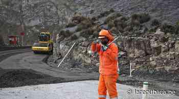 Primer tramo de la carretera Oyón-Ambo tiene una avance del 30% - LaRepública.pe