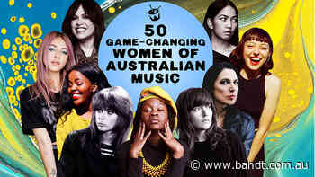 Double J Shares The Fifty Game-Changing Women Of Australian Music For International Women's Day