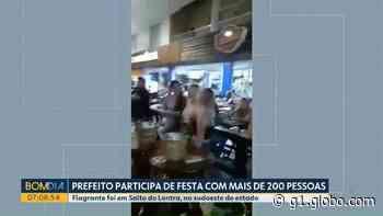Prefeito de Salto do Lontra participa de festa com 200 pessoas em meio à pandemia, diz MP-PR - G1