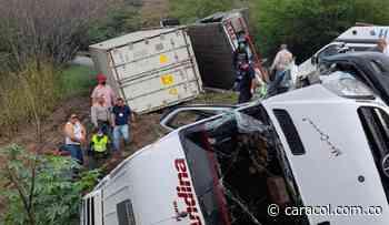 10 lesionados deja accidente entre Vijes y Yotoco - Caracol Radio