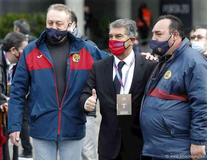 Joan Laporta es nombrado nuevo presidente del Fútbol Club Barcelona