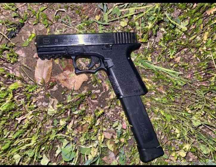 Bell Gardens Police Find`Ghost Gun' While Searching For Suspect