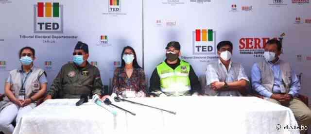 """TED califica como """"normal"""" la media jornada electoral en Tarija - El País"""