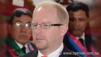Gobernador de Tarija da positivo a COVID-19 y es atendido en sala de terapia intermedia - Opinión Bolivia
