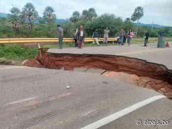Inestabilidad de 3 caminos en Tarija preocupa al Transporte - El País - El País