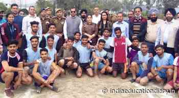 2-Day Kho-Kho tournament concludes at GDC Udhampur - India Education Diary