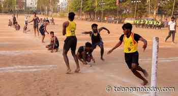 Hyderabad men down Nalgonda in TS Kho Kho championship - Telangana Today